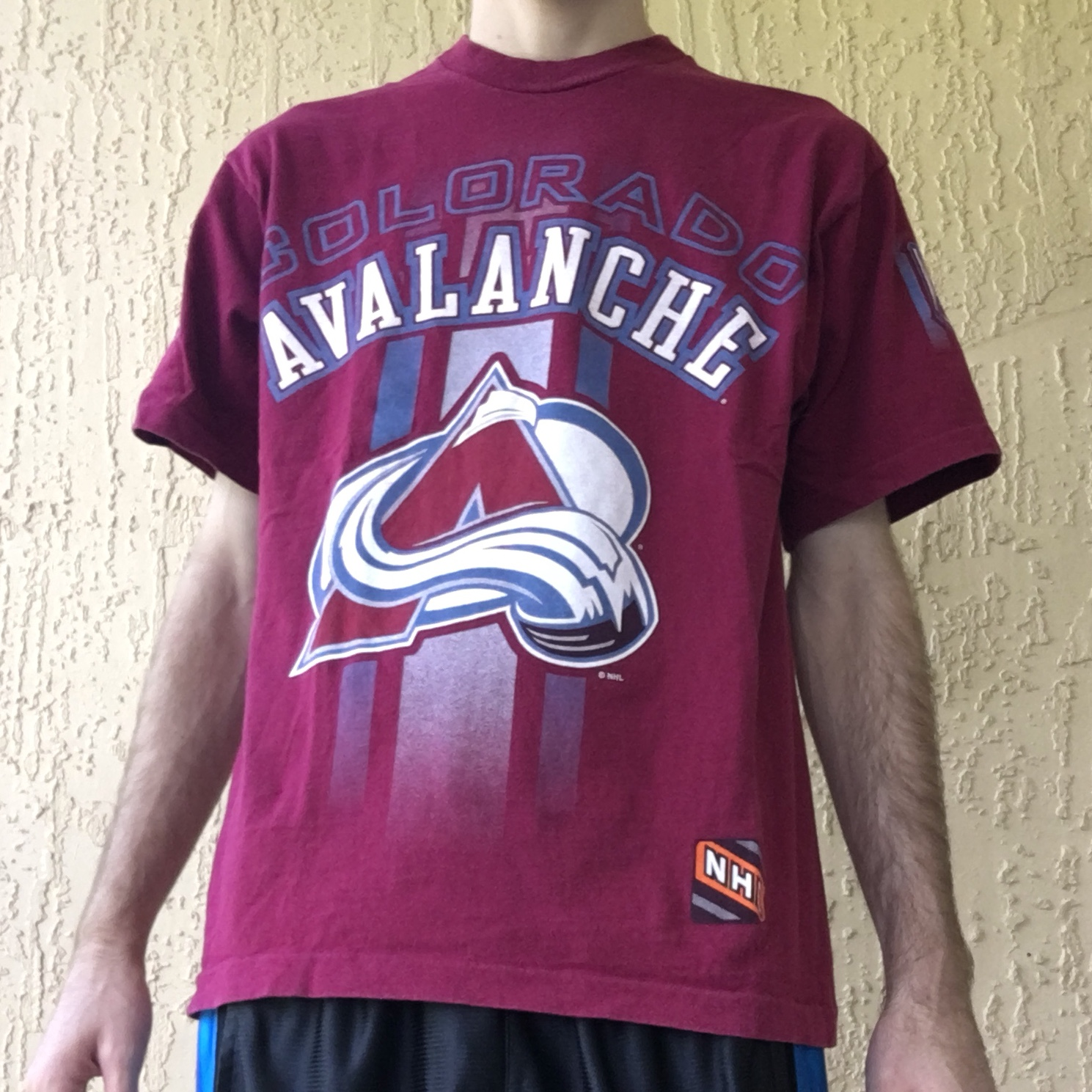 newest collection a38a9 af477 Colorado Avalanche T Shirt. NHL Western Conference ...