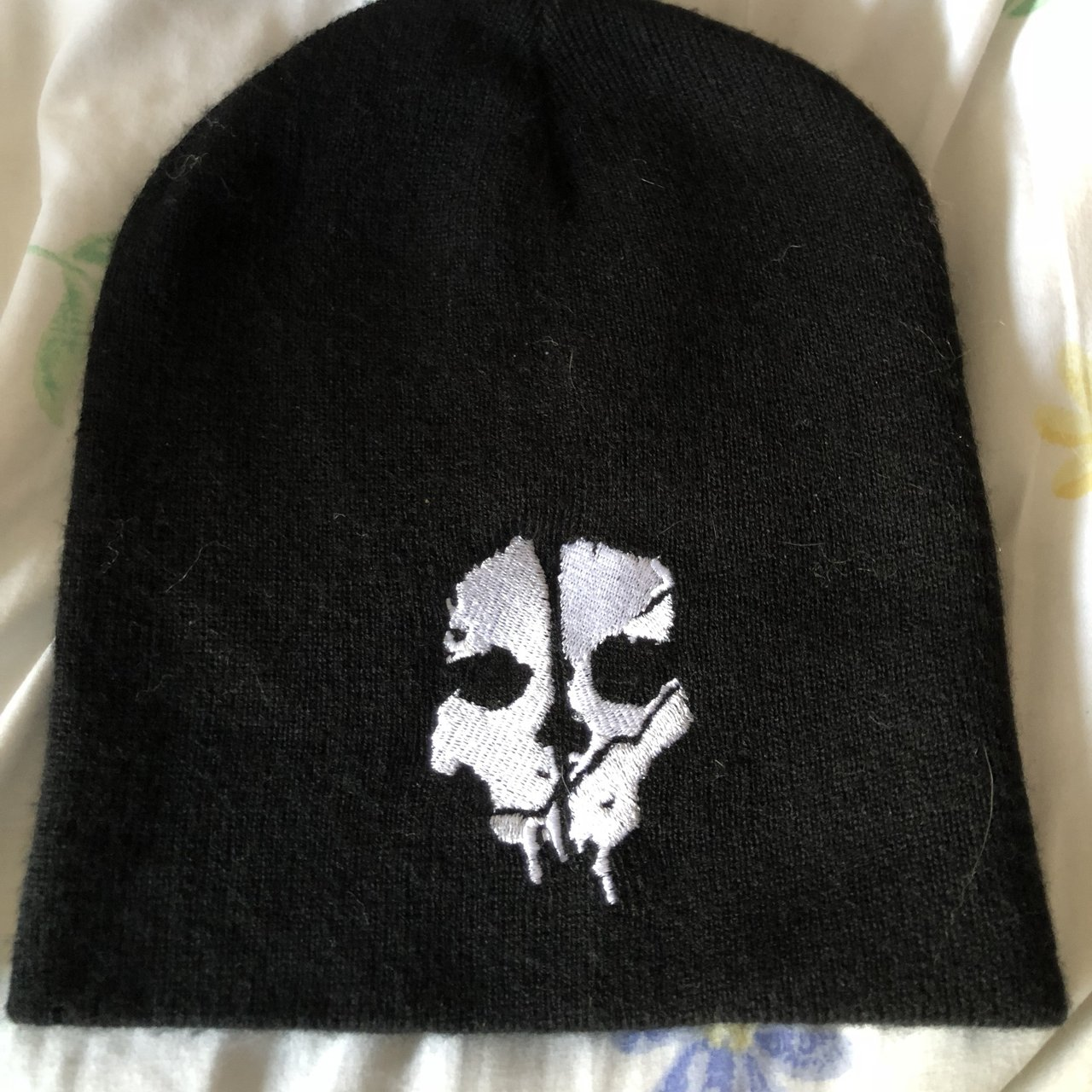 call of duty ghosts beanie ! Super warm and edgy tags  emo - Depop de7f806875b