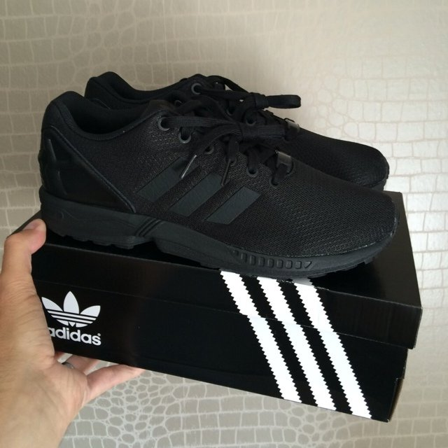 adidas zx flux all black for sale