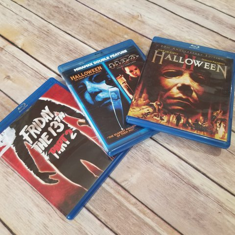 Halloween 5 Blu Ray.Listed On Depop By Discardartist