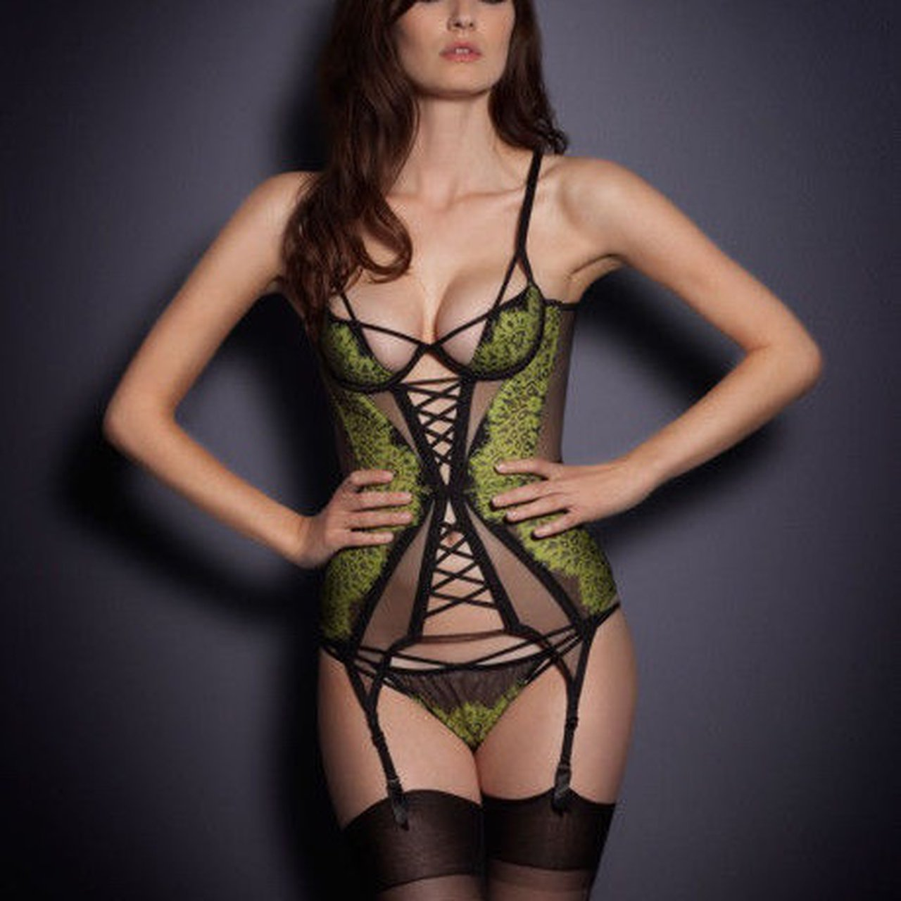 2627cba4b4 Agent provocateur electra basque new with tags i would depop jpg 1280x1280 Agent  provocateur basque