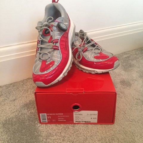 detailed pictures facc3 18dee @willpoy. 6 months ago. Radlett, United Kingdom. Supreme/Nike Air Max 98 ...
