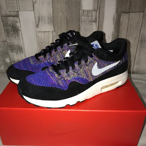 769004469c2df Nikelab air max 1 flyknit Size  UK 9.5 Brand new with class - Depop