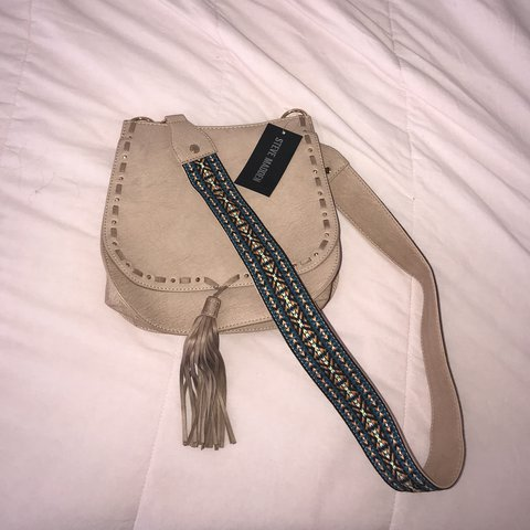 c36cd89719 Steve Madden blush pink cross body w/ decorative strap. NEW. - Depop