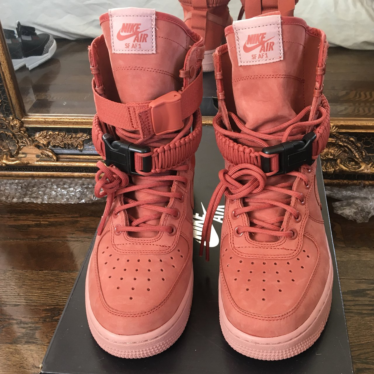best sneakers bfd84 c9c90  thedondada. 3 months ago. New York, United States. Women s Nike SF AF1  Dusty Peach.