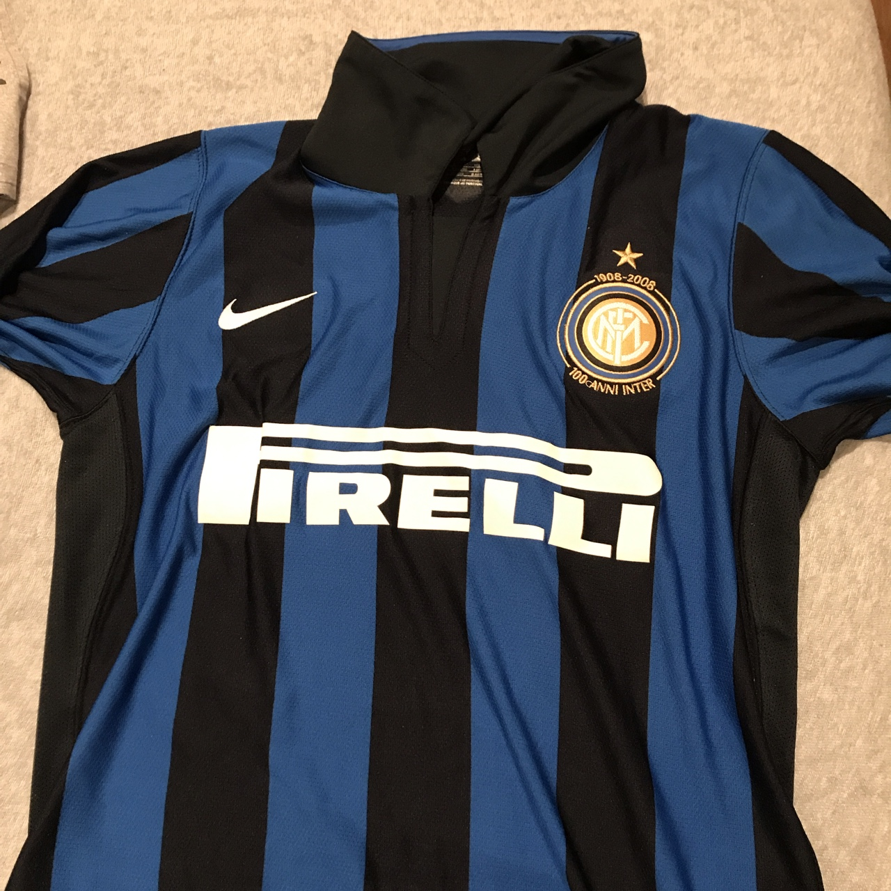 cheap for discount 2acda 80484 Nike INTER MILAN FC 1908-2008 100th Anniversary... - Depop