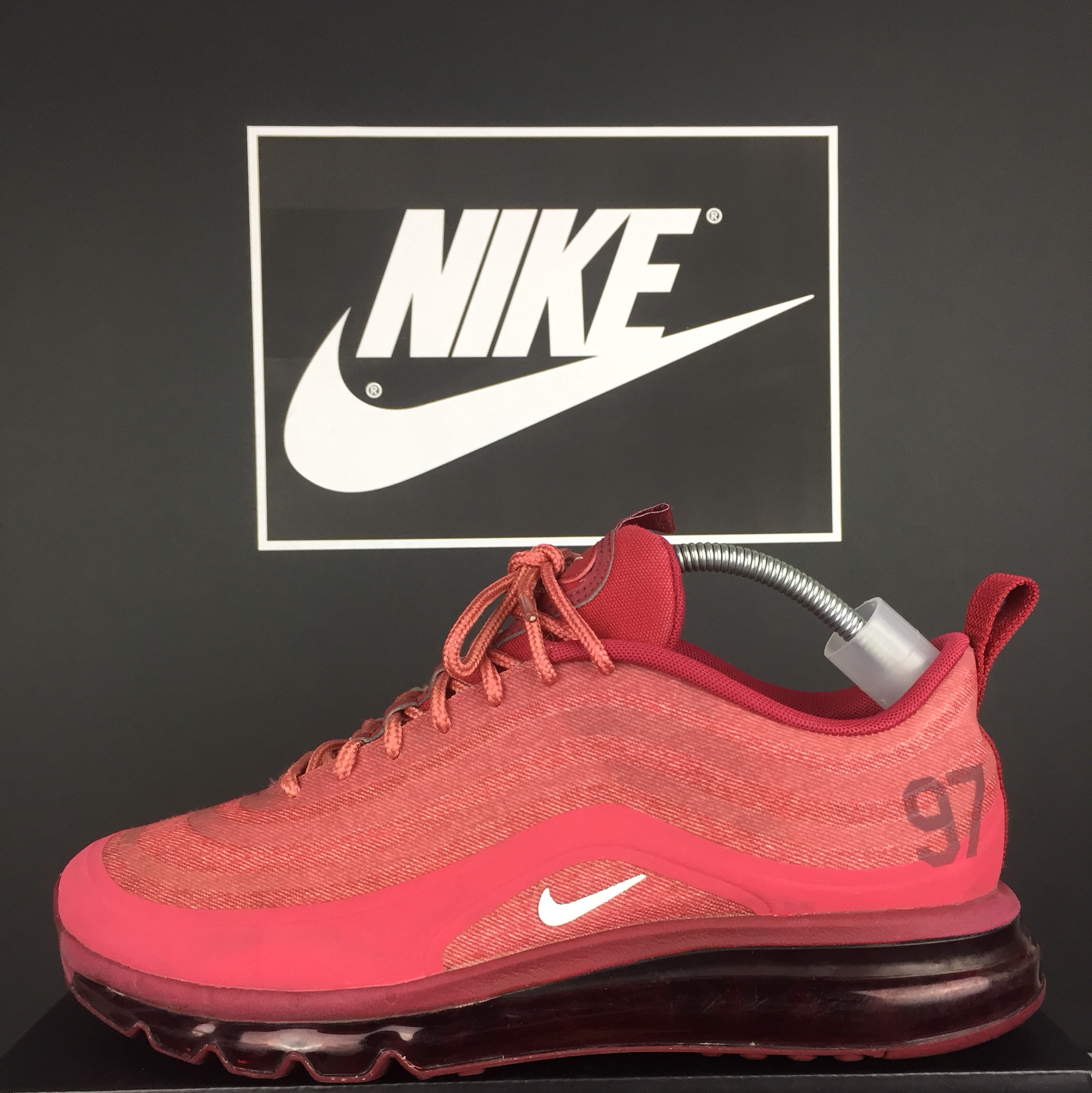 Nike Air Max 97 Red Hyperfuse Size 8.5 fit 9 Depop