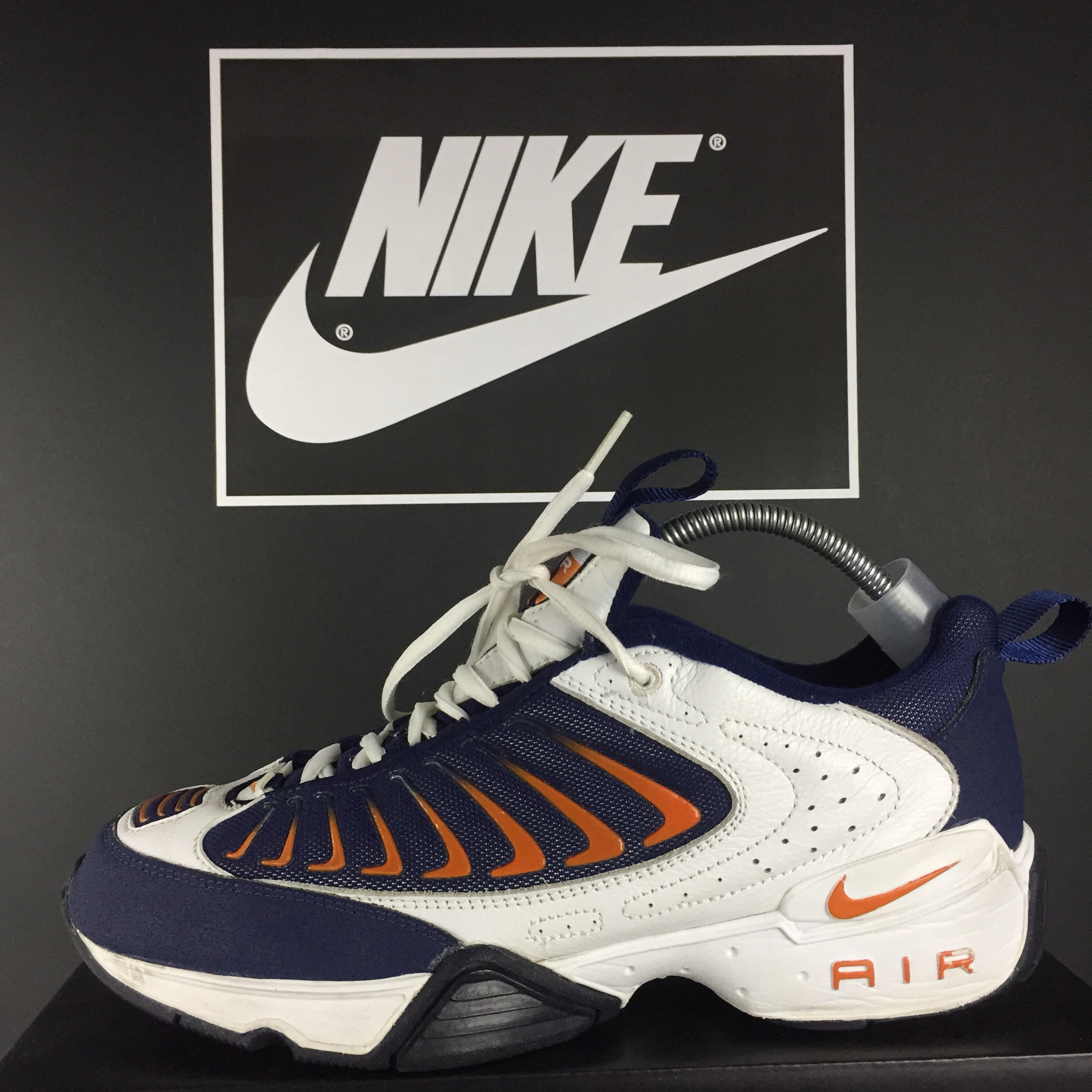 new product 350be f8322 1999 Nike Air Max Zoom Citizens Traix Navy / White /... - Depop