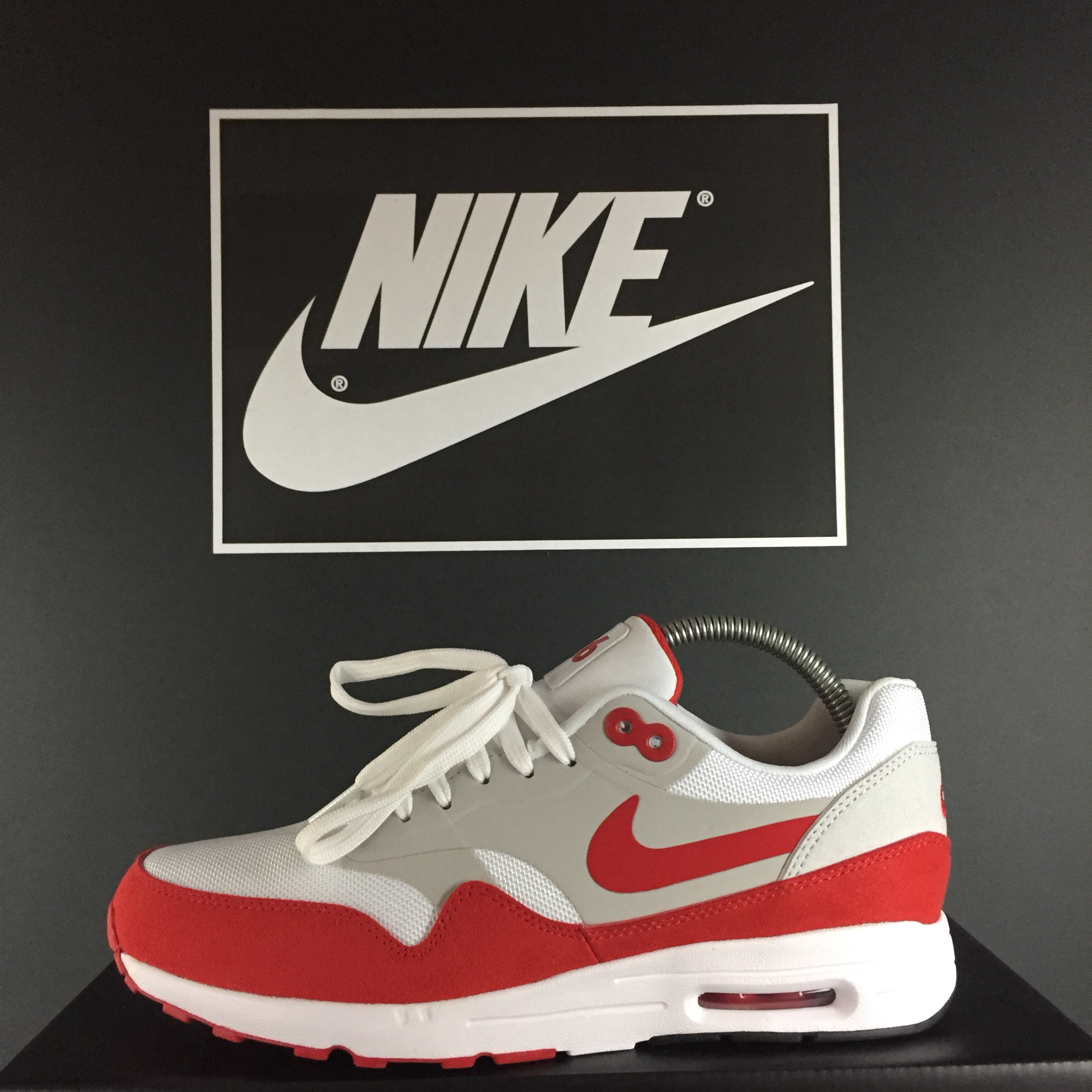 BRAND NEW Nike Air Max 1 30th Anniversary Red Size Depop