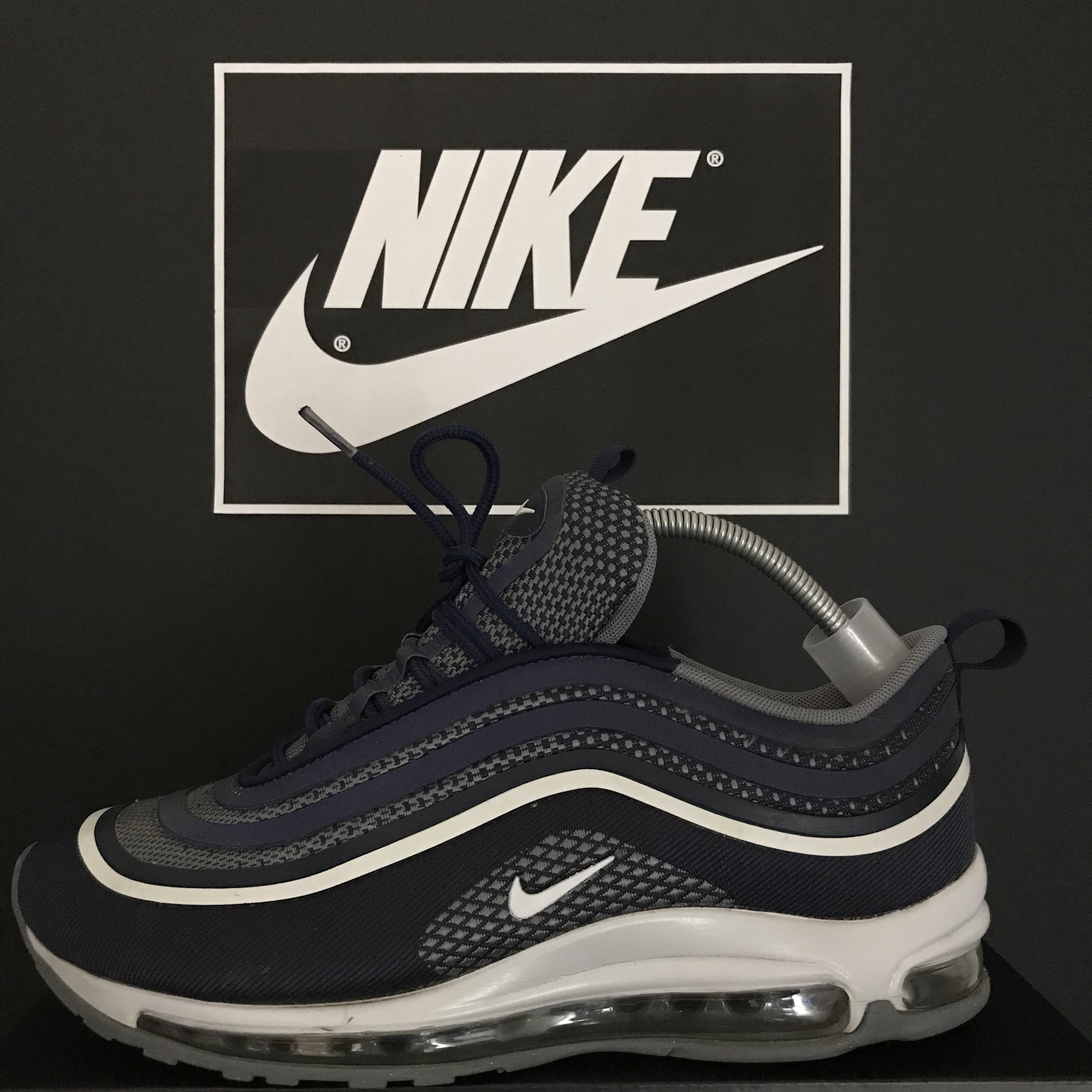 Nike Air Max 97 Ultra Midnight Navy Size 8 UK In Depop