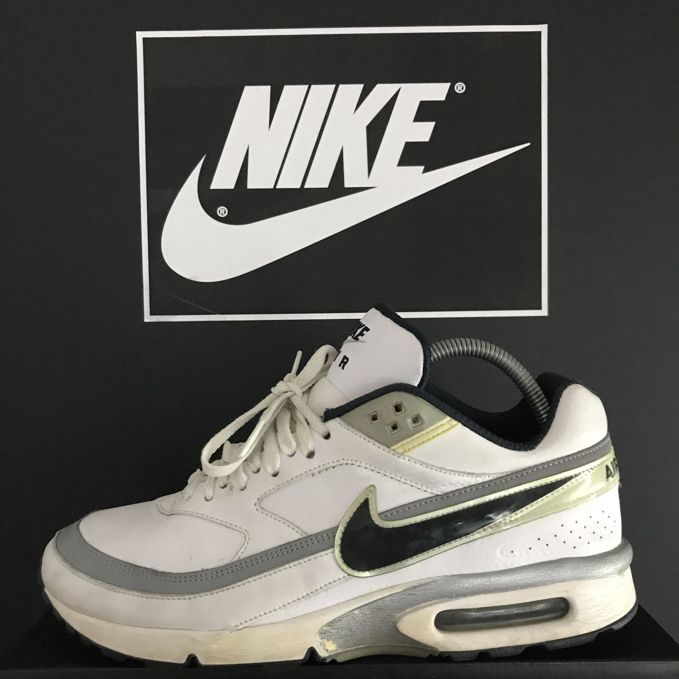2008 Nike Air Max BW Leather Edition Size 9 UK In Depop