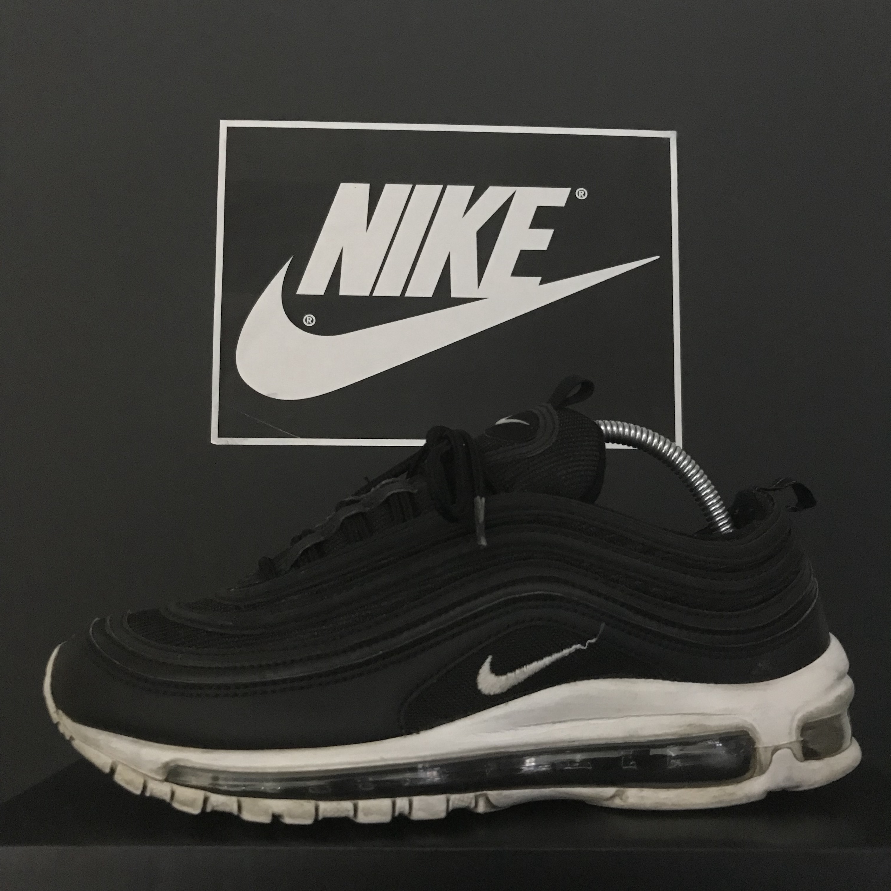 Women's Shoes Nike Air Max 97 Glitter Grey AT0071 001