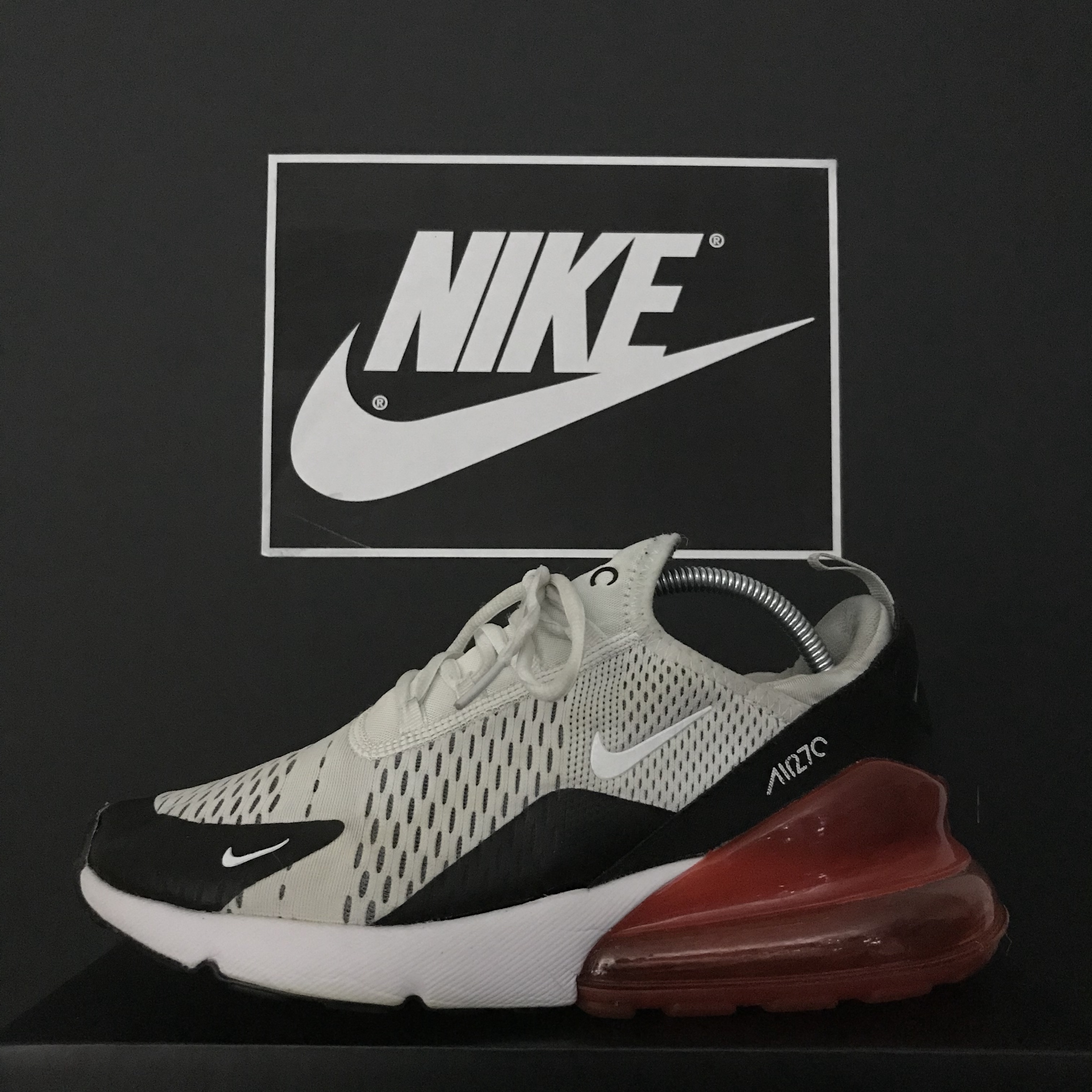 Nike Air Max 270 Older Kids' Shoe CJ4580 101 Compare
