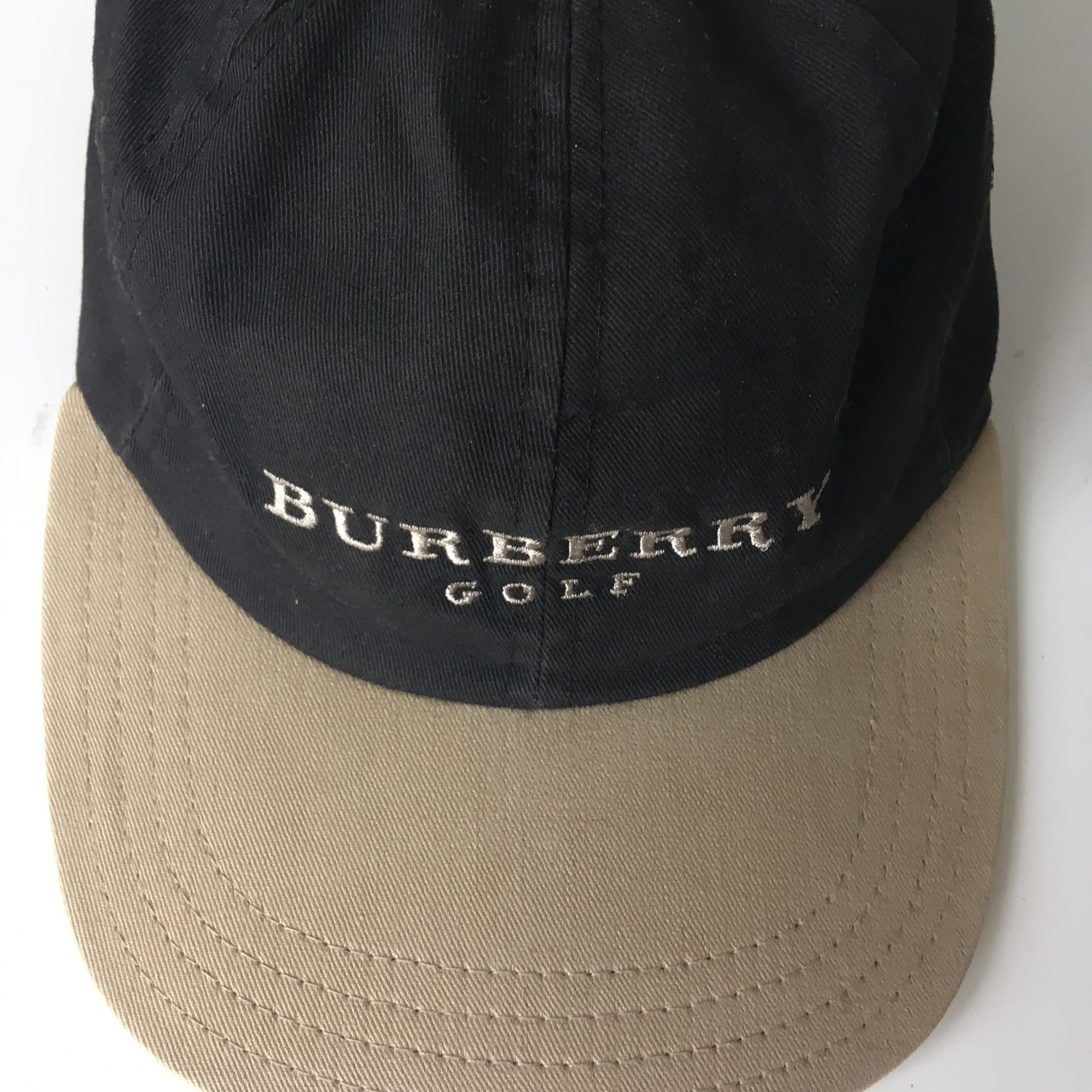 Burberry golf hat This is a vintage burberry cap from there - Depop 057b3ec3775f