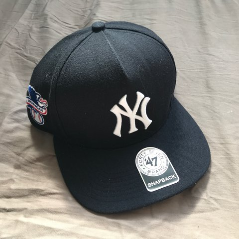 ee54e2b79bf ... hot supreme x 47 brand x new york yankees snapback hat brand depop  958db 28282