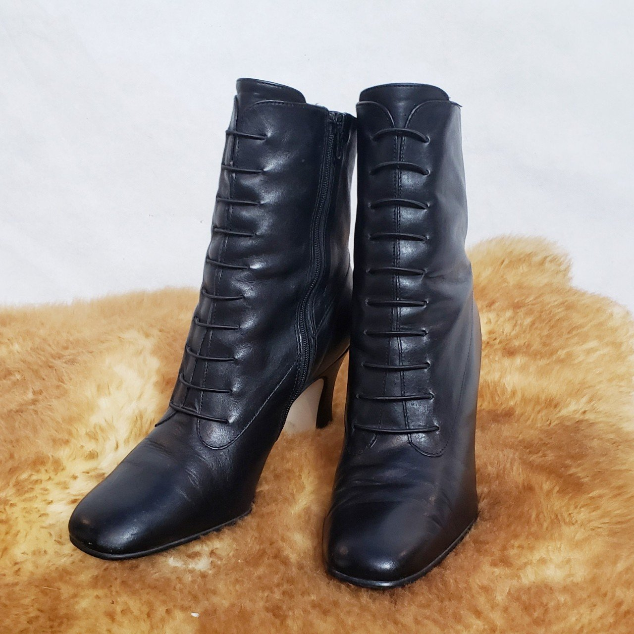 Laura Scott vintage Granny boots! 🖤Witchy with a wicked so - Depop c671d97ca