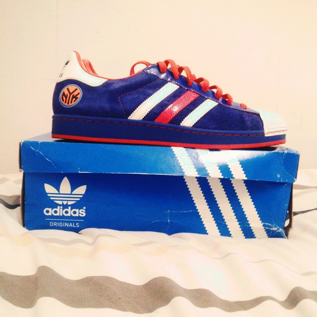 2008 ADIDAS SUPERSTAR 1 NBA SERIES NEW YORK