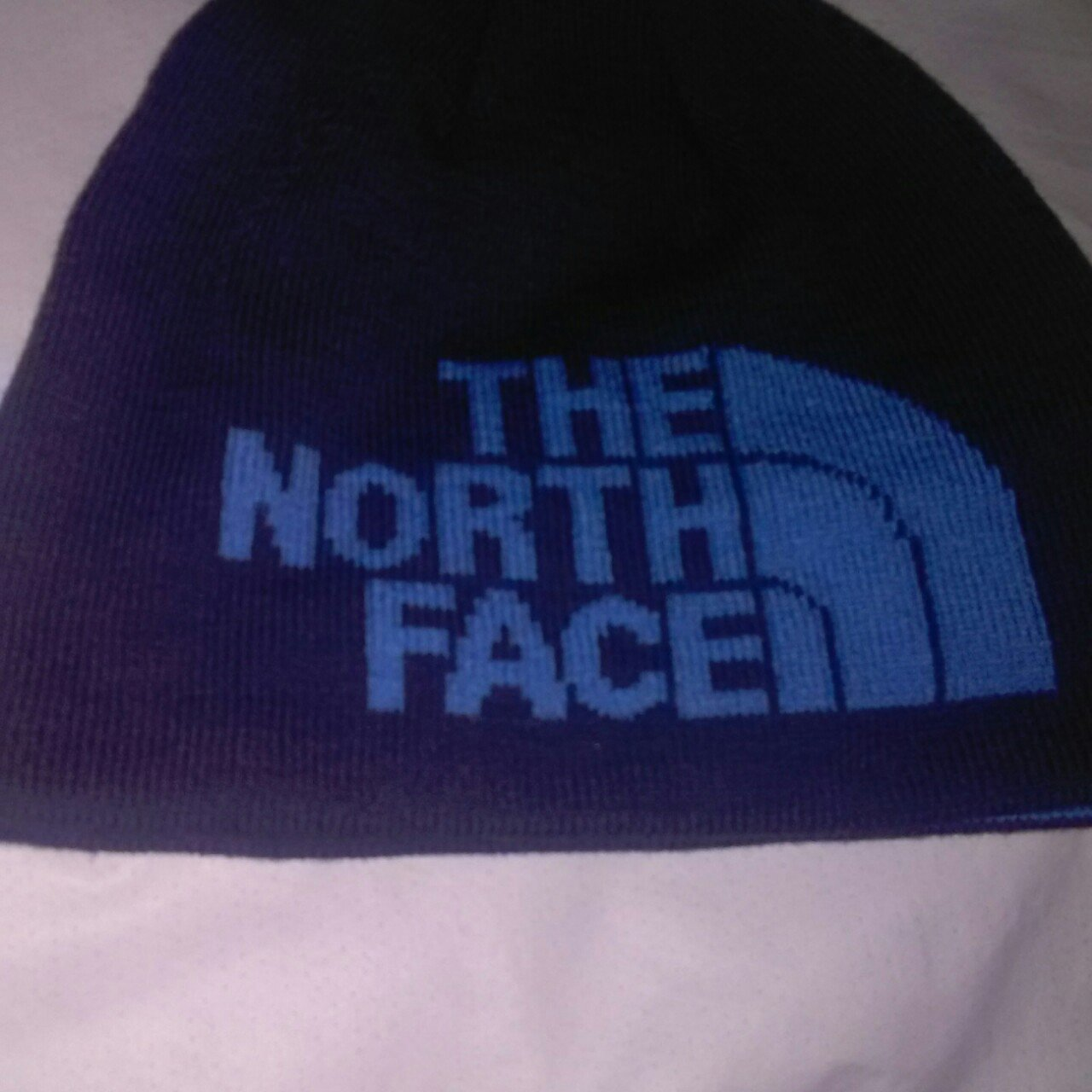 The North face unisex hat one size New without tag Navy - Depop b896afcf9a8
