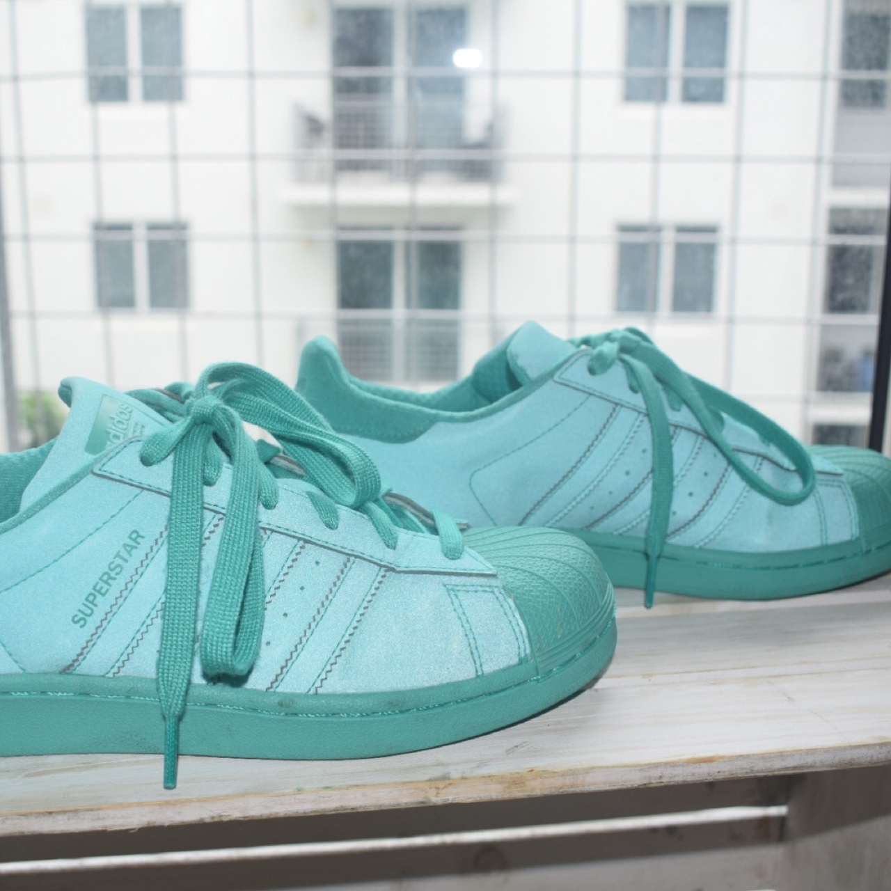 EXCLUSIVE COLOR!! Adidas turquoise