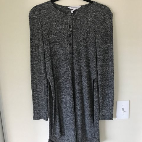 8eba075d6cbeec Faltering BCBG sweater dress! Pair it with leggings and some - Depop