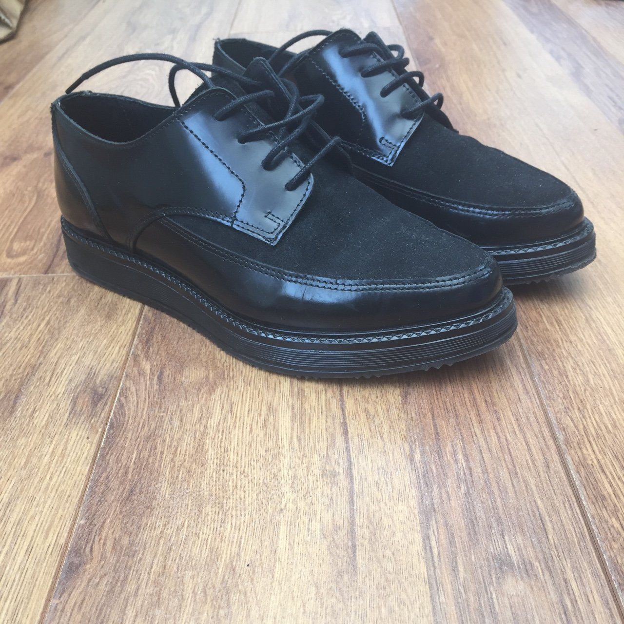 b259a76c0ea OFFICE brogues size 5 (hardly worn) - Depop