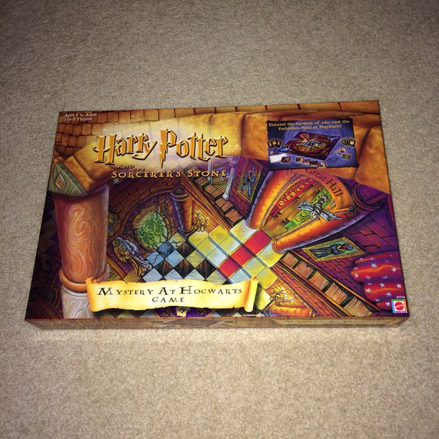 Harry Potter Board Game  Based on the sorcers stone     - Depop