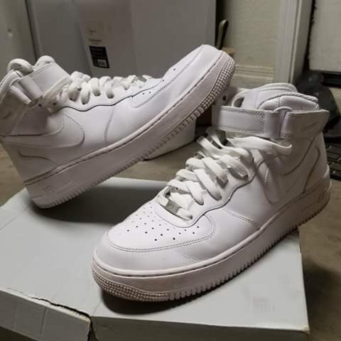 Nike Air Force 1 Low. UK 7 (fits large). Great Depop