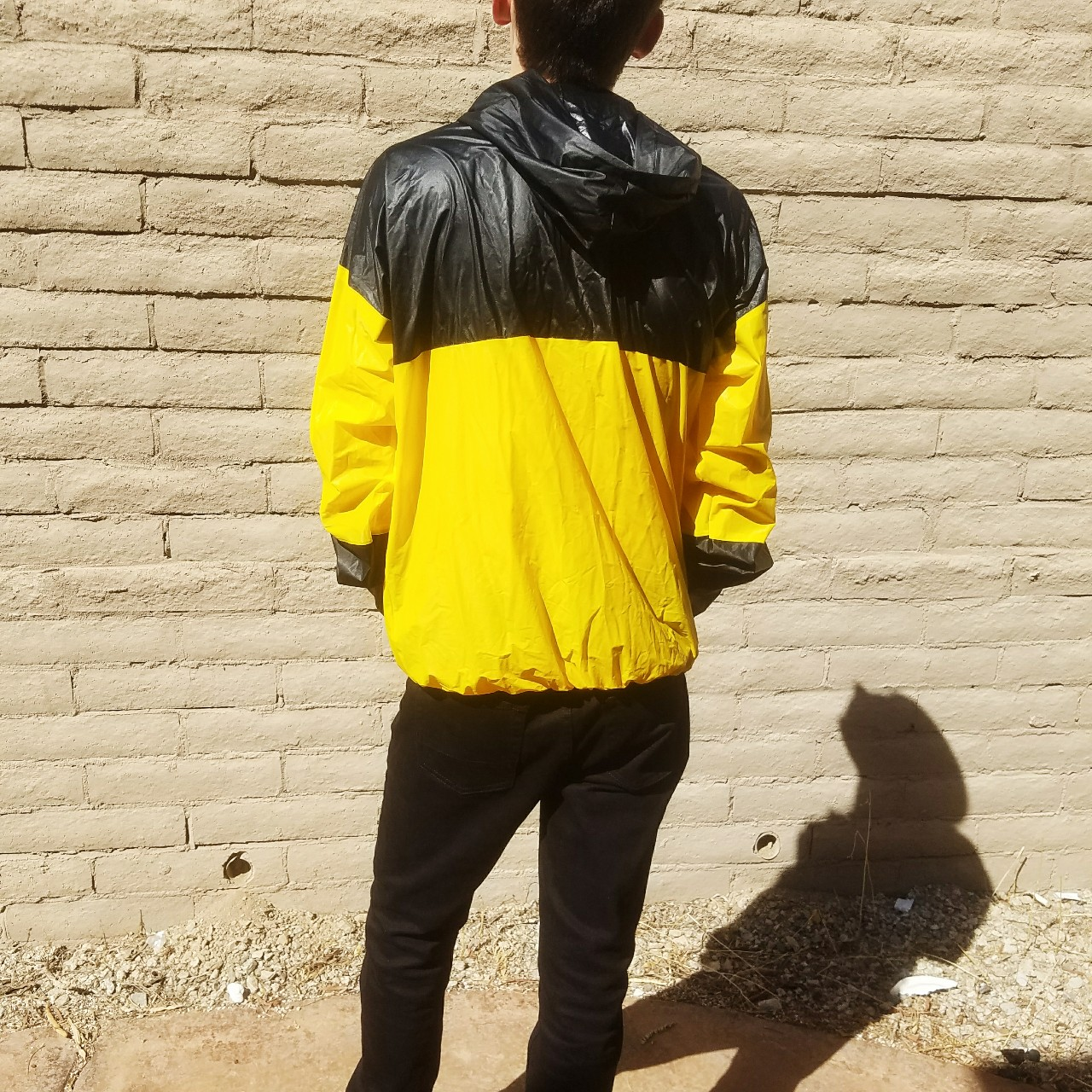 the best attitude f2050 746ff 1994 steelers NFL rain jacket. Perfect condition. No... - Depop