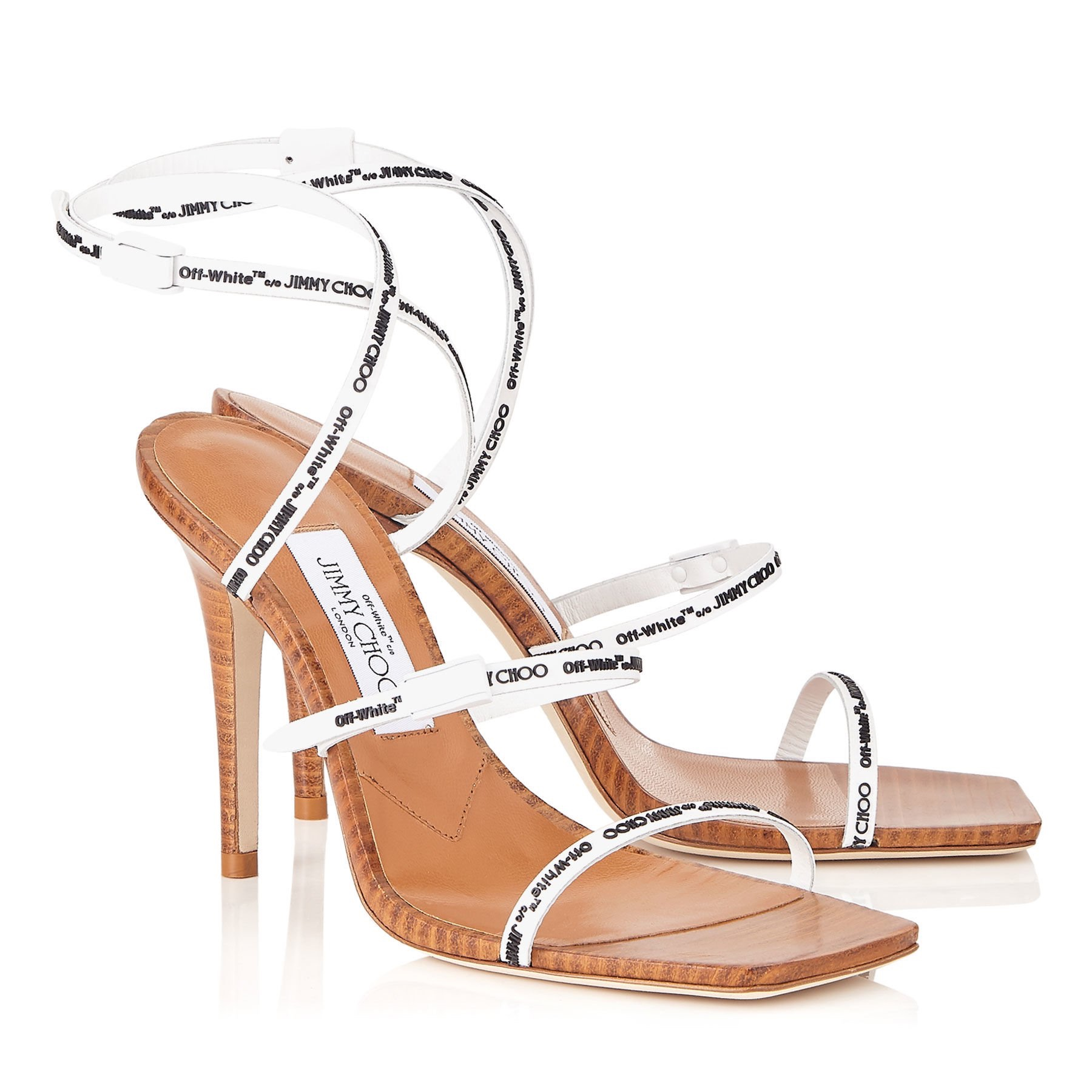 Jimmy Choo x Off-White collab sandals