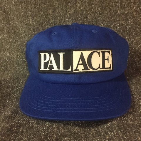 Palace snapback. Royal blue with palace patch in the front. - Depop bc38f3ff7a0
