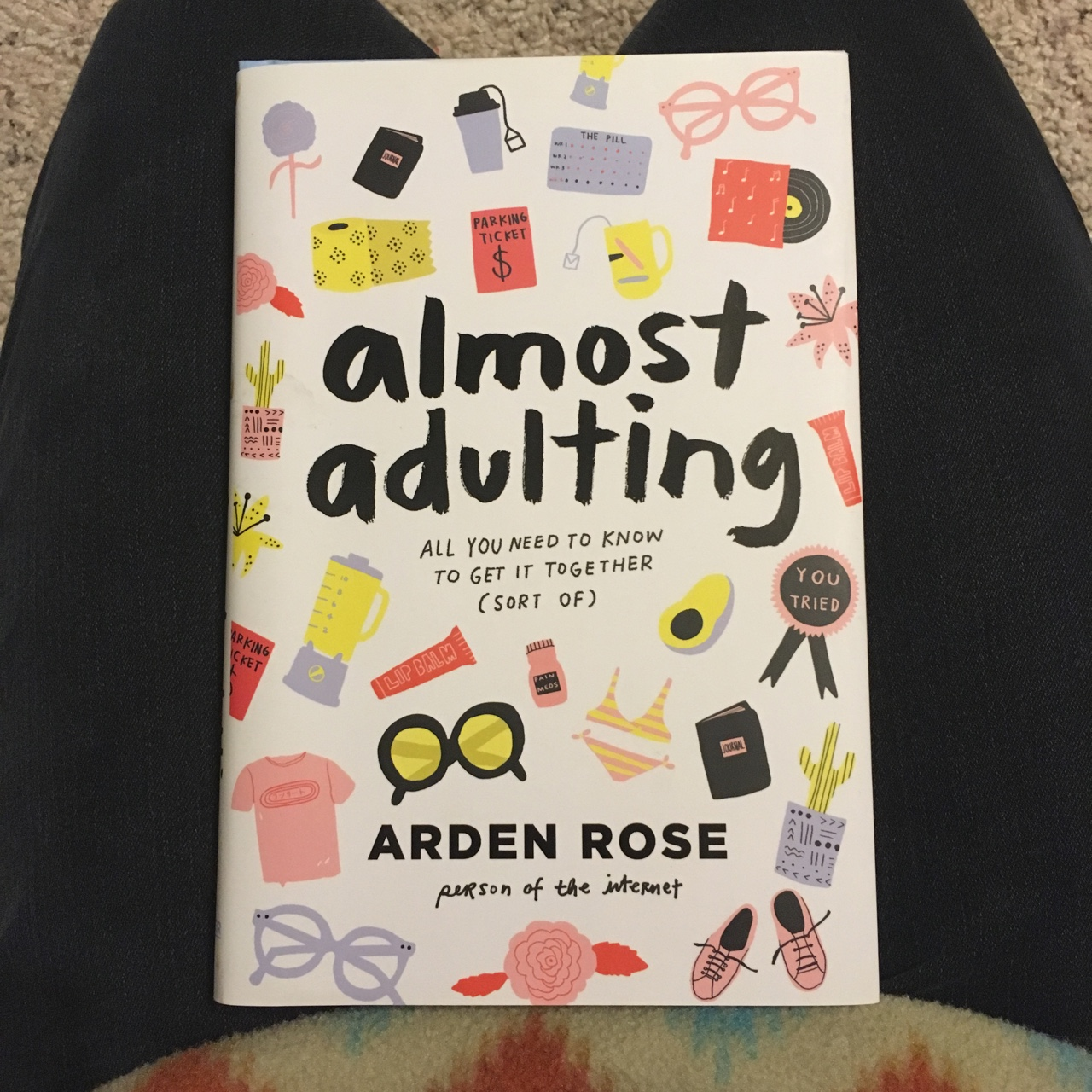71b9e46235f Almost Adulting by youtuber Arden Rose - Depop