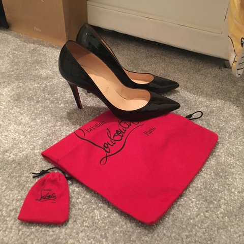 0c8ad6b6a4 100% genuine Christian Louboutin pigalle 100mm. Come with no - Depop