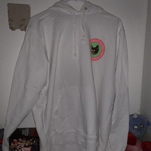 886368398a13 Golf Wang The great wang of the flog gnaw land hoodie size - Depop