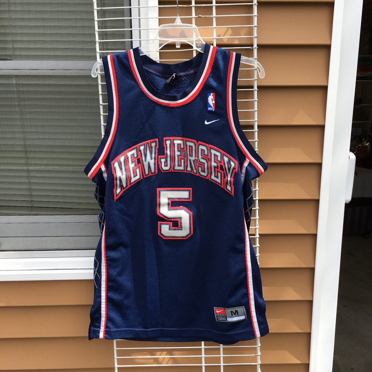 finest selection e509d 11aac Nike Jason Kidd New Jersey Nets jersey. Men's... - Depop