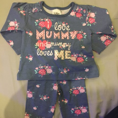 Clothing, Shoes & Accessories Baby Girls 3-6 Months Outfit Flowers Pretty Cute Leggings Top
