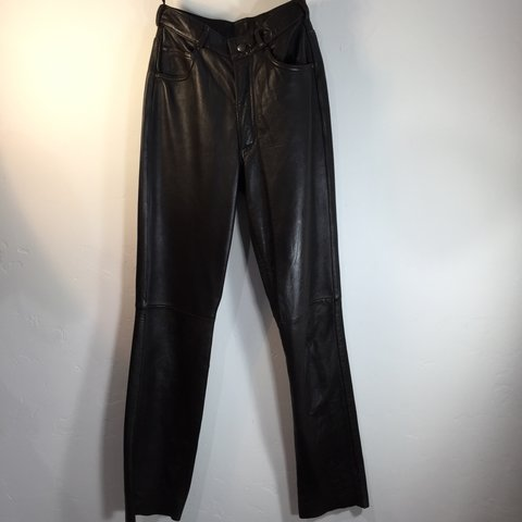 948e68b608ba39 @twiggyiggy. 2 months ago. San Antonio, United States. Dark Brown Leather  Pants Women's ...