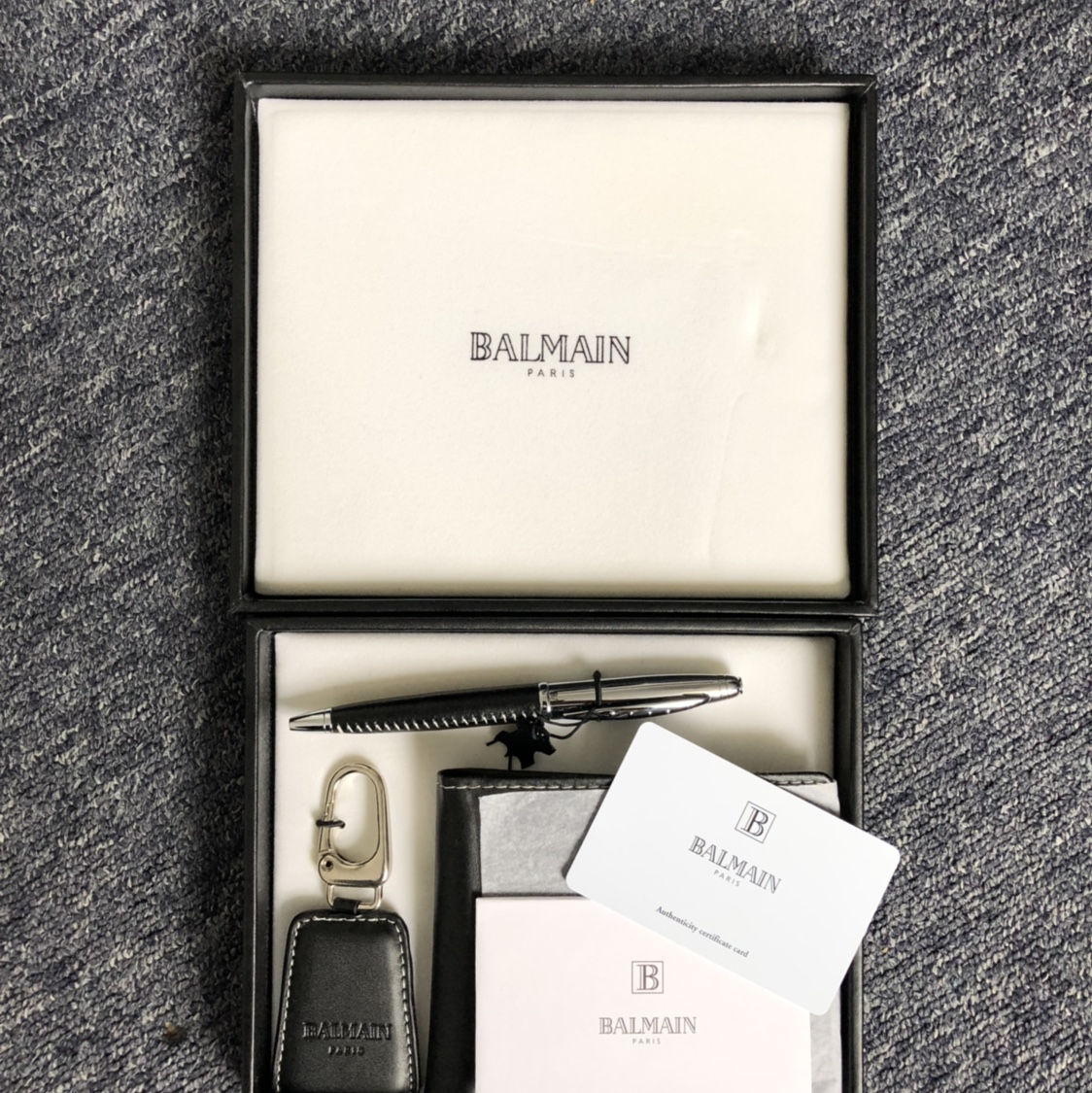 best quality best sell where can i buy Balmain Mason Gift Set which includes a men's black... - Depop