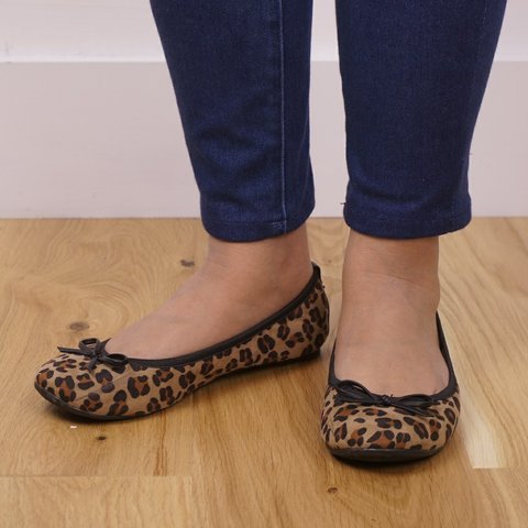 e0aed64ff @aggid. last year. London, Greater London, United Kingdom. Leopard print  ballet flats, foldable flat shoes