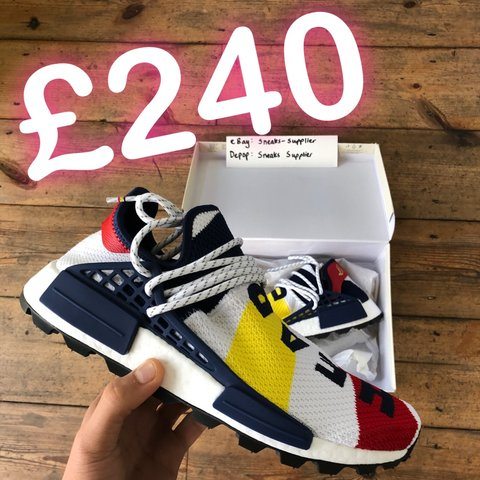 b0ea494d4 Adidas Pharrell Williams bbc billionaire boys club hu nmd Uk - Depop