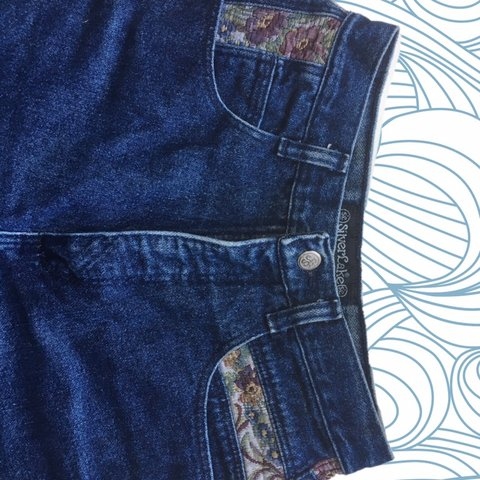 782079bc @rtapio. 2 months ago. Eugene, United States. Vintage high waisted Wrangler  SilverLake jeans! 70s or 80s women's western wear. No back ...