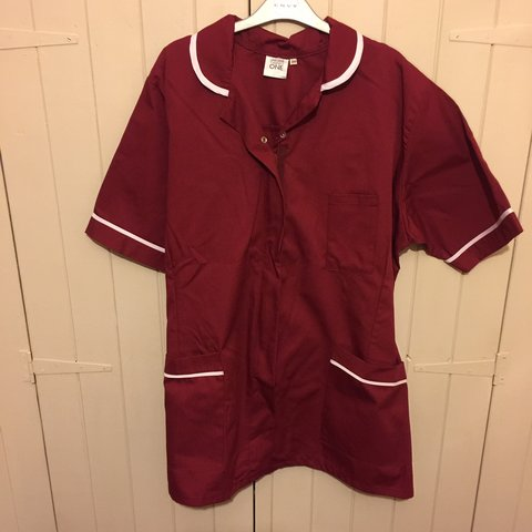 4e22d36d30e6 Size 20 burgundy uniform brand new, two more for sale so can - Depop