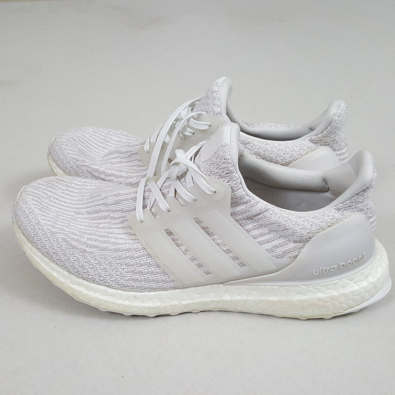 fbef22195 Adidas Ultra Boost 3.0 Triple White. Size 8.  trainers - Depop