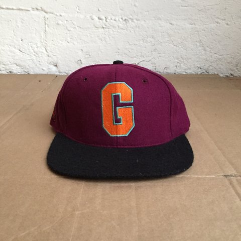 9714239820f06 Vintage 1990 s Homestead Grays Negro League Baseball Hat in - Depop