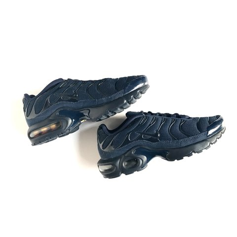 4e50f7387a NIKE TRIPLE NAVY TN'S WITH SUEDE DETAILS FOR THE LOW LOW     - Depop