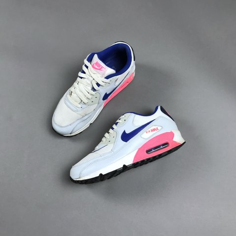 size 40 e01a8 d10c2  hypepharmacy. 5 months ago. London, United Kingdom. Nike air max 90. Sky  blue navy pink