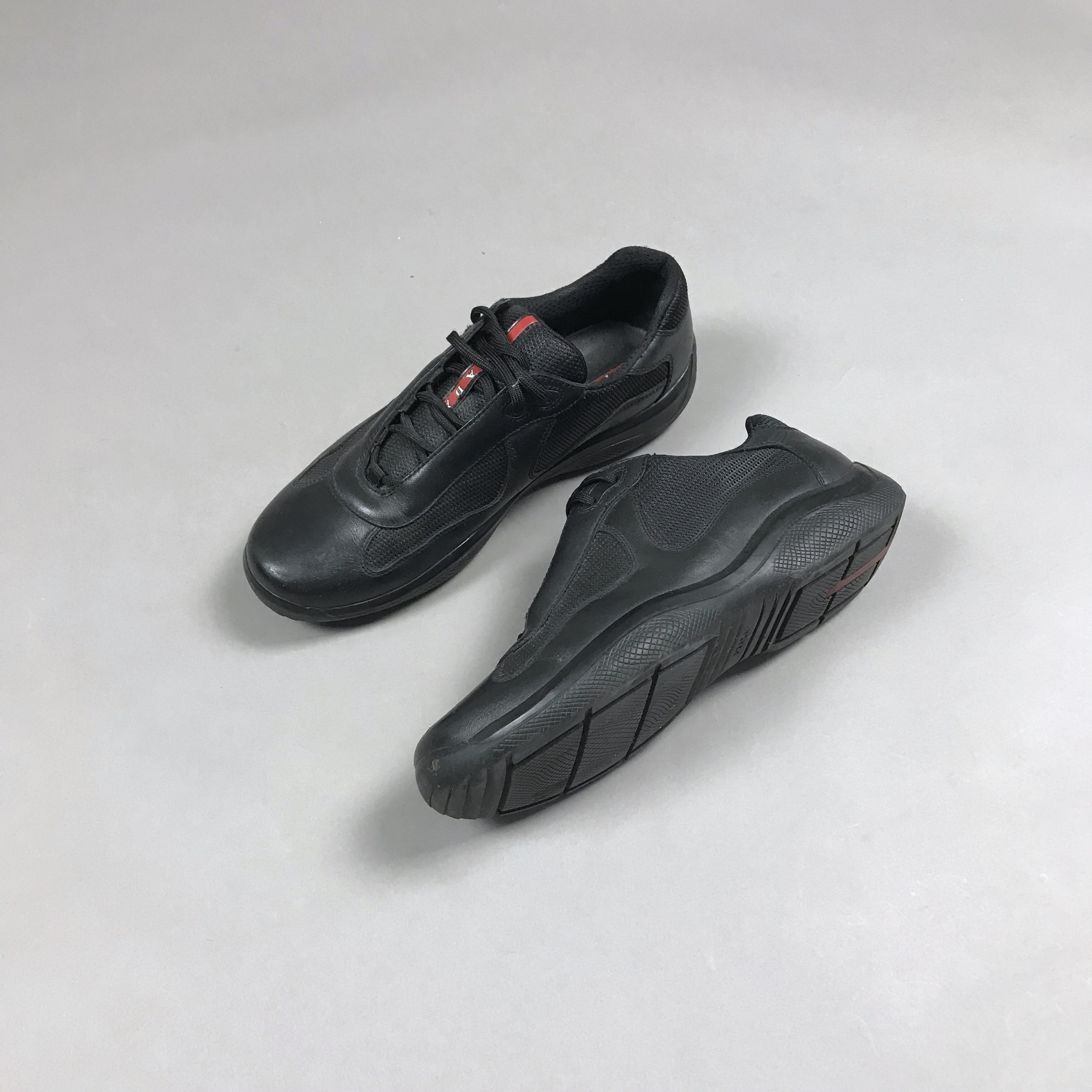 mens leather trainers size 9 closeout