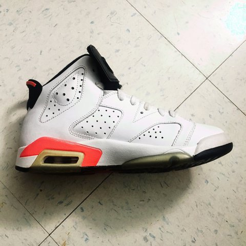247c10b5c4a Air Jordan Retro 6 Infrared-White