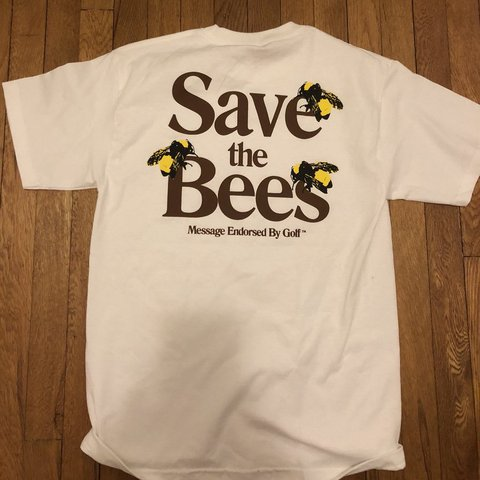 b959f55bd75c brand new in bag golf wang save the bees tee shirt in size i - Depop