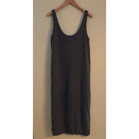 3c8fd84d Cooperative Urban Outfitters vintage inspired polka dot midi - Depop