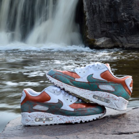 298aa4d9e6c6 Custom Nike Air Max 90